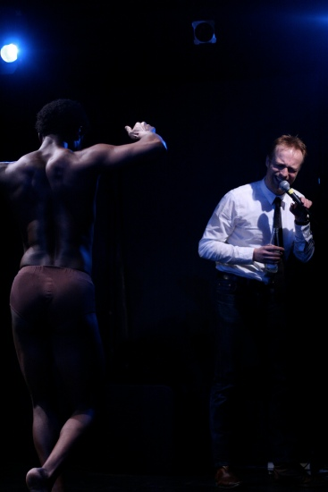 Performance Art – Sandro Masai, Morten Burian, Christian Skjødt and Pernille Rasmussen - Teater Transformator, Aalborg, 2009
