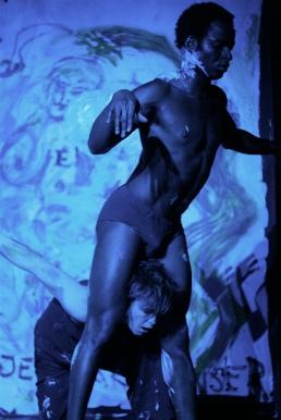 Performance Art – Sandro Masai, Morten Burian, Christian Skjødt and Pernille Rasmussen - Teater Transformator, Aalborg, 2009