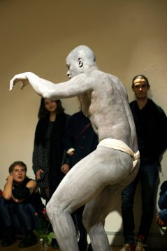 ALLERGY - Butoh Dance Performance by Sandro Masai - Photo: Anna-My Christiansen