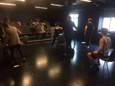 Performance art workshop at Aalborg University, 2016